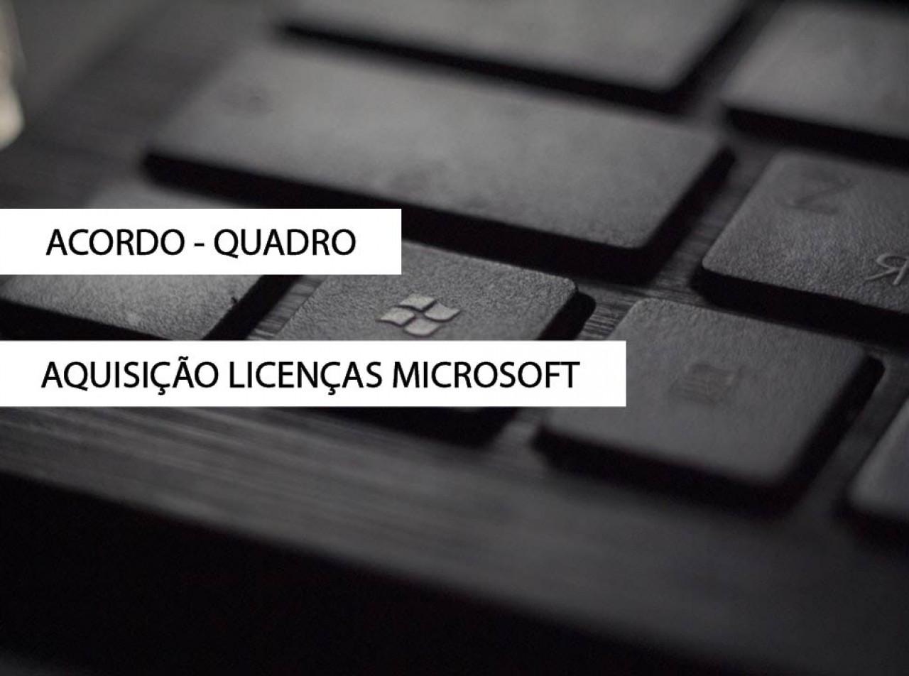 Aquisição de Licenças MICROSOFT
